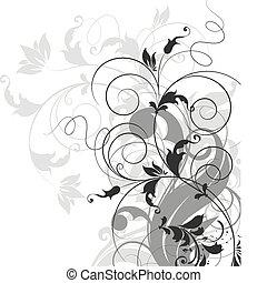 Floral vector illustration for design.