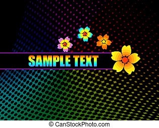 background flowers design