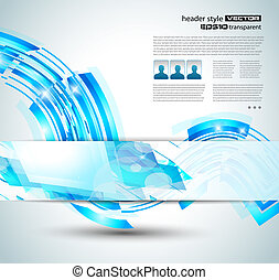 abstract background for business flyer