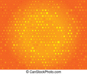 Abstract background for design. Orange pattern.