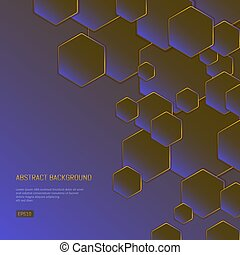 Abstract background for presentations on business and