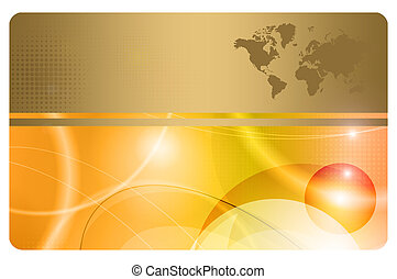 Abstract background for the design of business card.