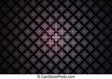 Abstract background. Fractal digital artwork, 3d illustration
