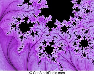 Abstract background fractal