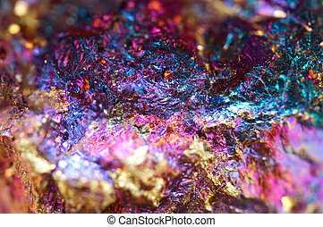 Abstract background from a metal mineral. Rather unique...
