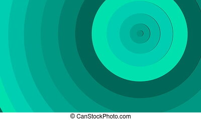 Abstract background from circles able to loop