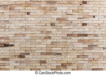 Abstract background from old brown bricks pattern on wall with grunge. Architecture construction background.
