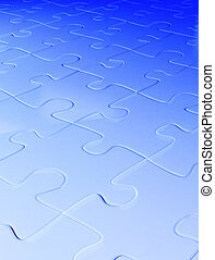 Abstract background from puzzle