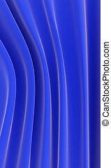 Abstract background from waves from blue gentle silk
