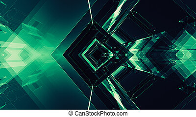 Abstract background. Futuristic concept space technology. Future