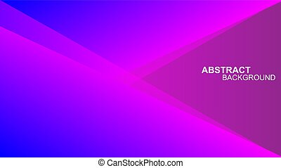 Abstract background geometric design with purple