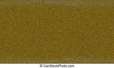 Abstract Background Glitching Linear Pattern - A computer...