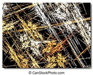 abstract background, gold