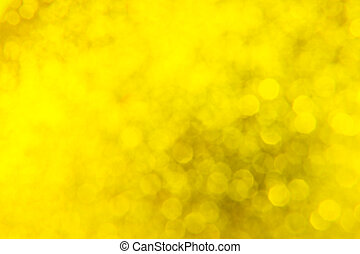 abstract background golden bokeh for Christmas background