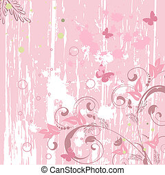 abstract background grunge pink