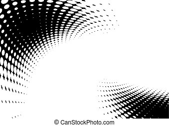 abstract background, halftone effect
