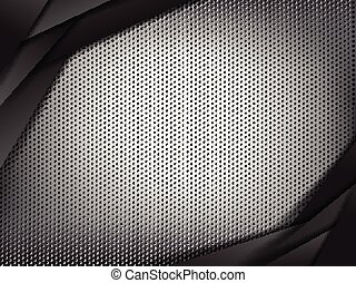 Abstract background hold polished metal 003