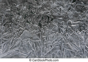 abstract background ice