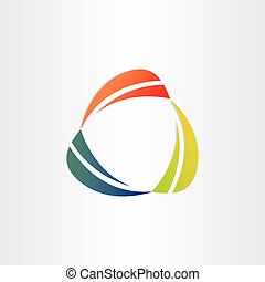 abstract background icon circle design element