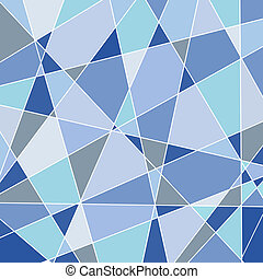 Abstract background in blue