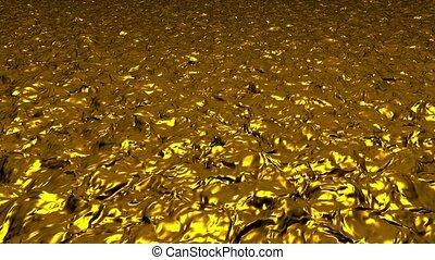 Abstract background in gold color