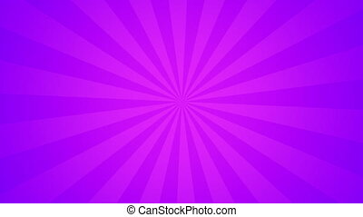 Abstract Background in Purple colors with Sunlight beams in Vintage retro style