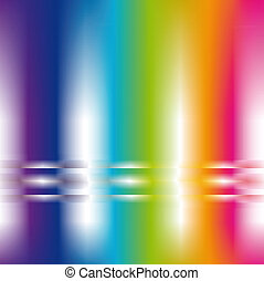 abstract background in rainbow colors - square abstract...