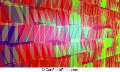 Abstract background in red and green