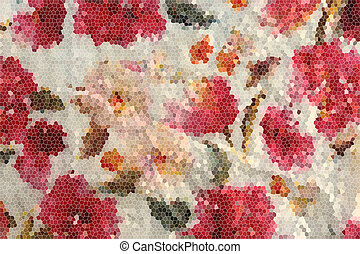 Abstract background in red colour