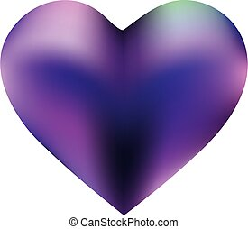 Abstract background in the form of a heart.
