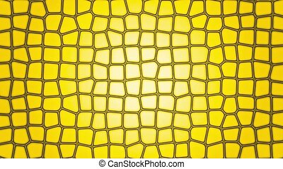 Abstract background in yellow