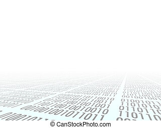 Binary code - Abstract background. Internet. Binary code. ...