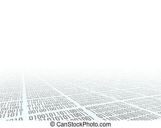 Binary code - Abstract background. Internet. Binary code....
