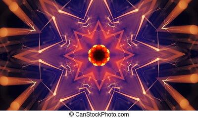 Abstract background. Kaleidoscopic. Mandala kaleidoscope...