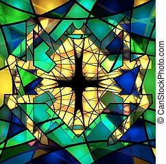 abstract background large spider - background variation vwth...