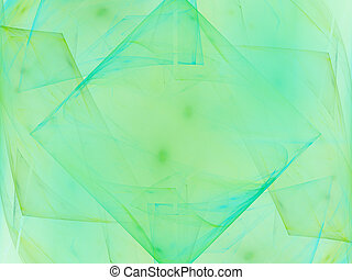 Abstract background. Light blue - green palette.