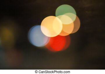 abstract background light Bokeh.