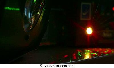 abstract background light laser - light beams bokeh...