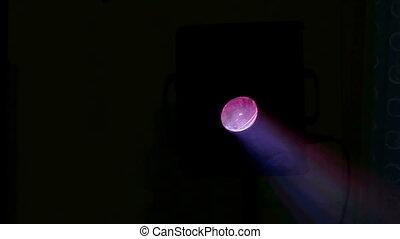 abstract background light laser - light machine bokeh...