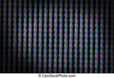 Tv Pixels Tv Zoomed Ion To Pixels