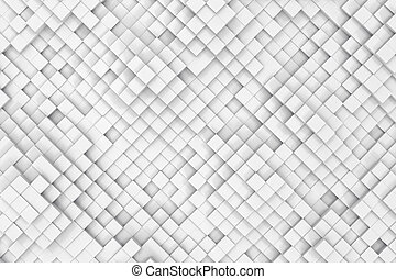 Abstract background made of cubes. 3d illustration