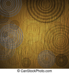 Abstract  background made of set of rings