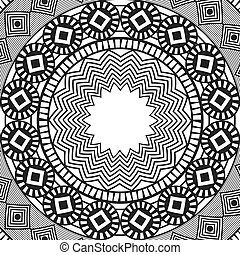 abstract background mandala