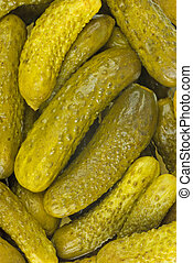 Marinated pickles - Abstract background: Marinated pickles