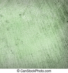 Abstract Background of a concrete wall fragment in green color