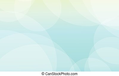 Abstract background of blue with bubble