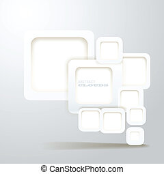 Abstract Background of boxes with blank area for any content