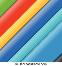 Abstract background of color paper sheets. Template for a text