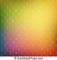 Abstract background of colored cells, vector illustration...