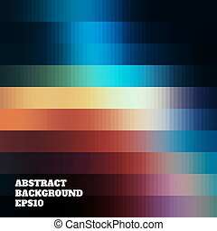 Abstract background of colored rectangles.